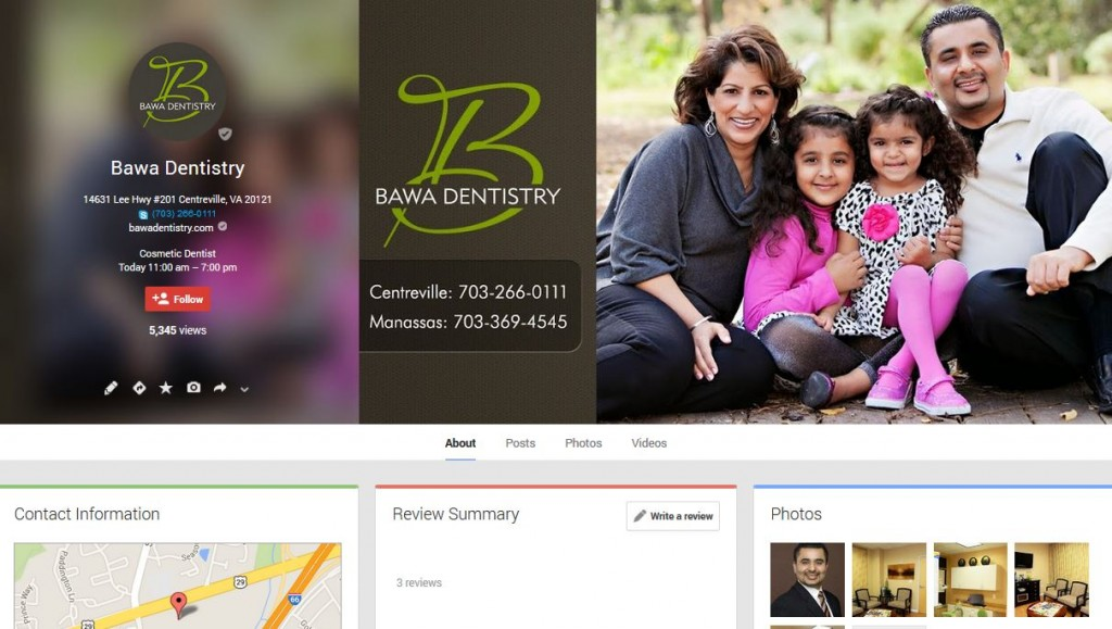 For the best Dentists Centreville, VA has to offer, visit Bawa Dentistry and see Drs. Bobby and Anoop Bawa!