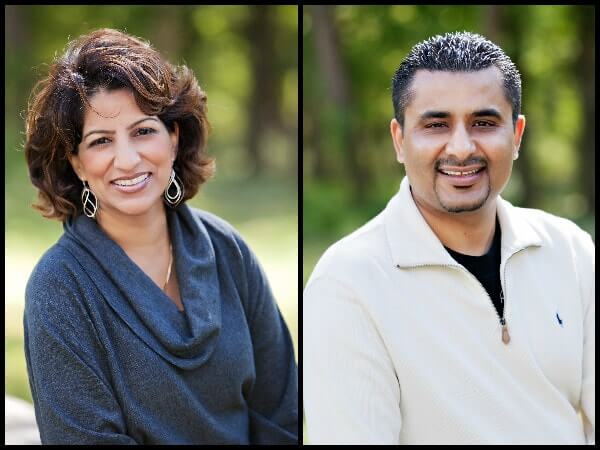 Cosmetic dentists Dr. Anoop and Bobby Bawa