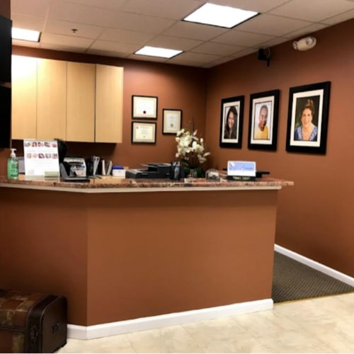Front Desk Bawa Dentistry in Centreville