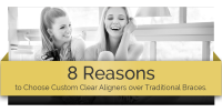8 reasons to use custom clear aligners banner