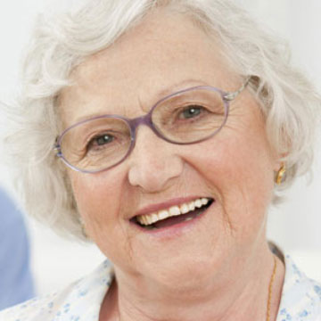 Bawa Dentistry - older lady with dentures