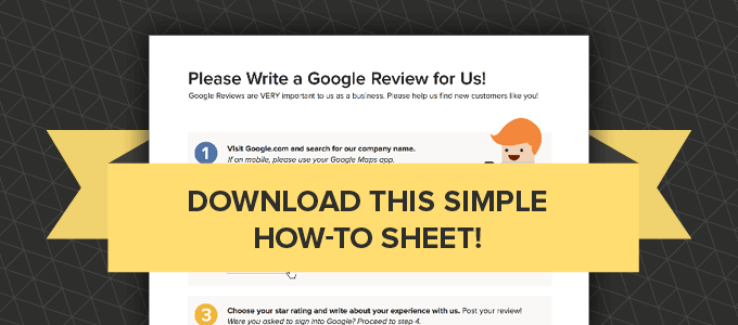 learn how to leave a Google Review
